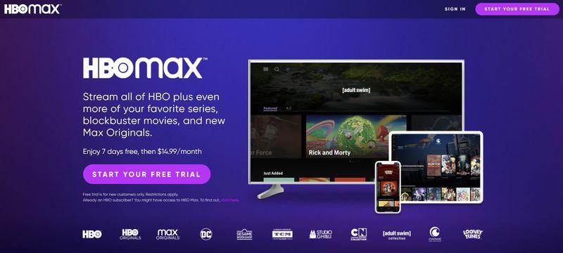 HBO Max Intro Screen