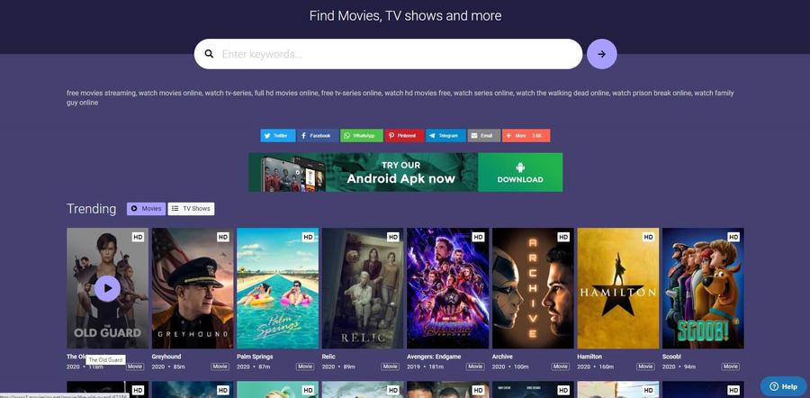Putlocker Alternatives - MoviesJoy