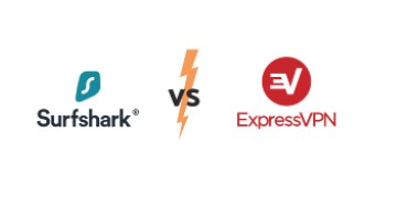 surfshurk vs express VPN Icon
