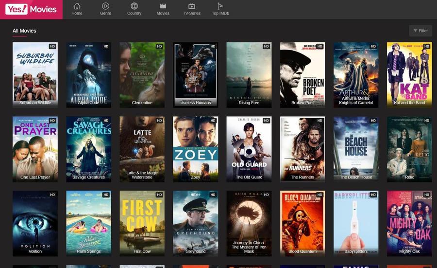 Putlocker Alternatives - Yes Movies