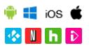 Software client supporté