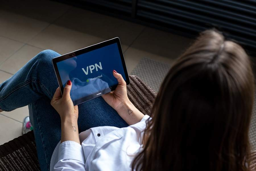Stream content with VPN